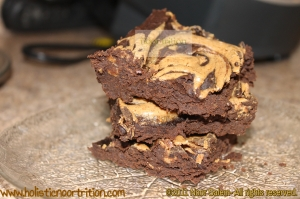 Noor's famous sunnah-full black bean brownies.