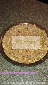 Noor's Nut Crust