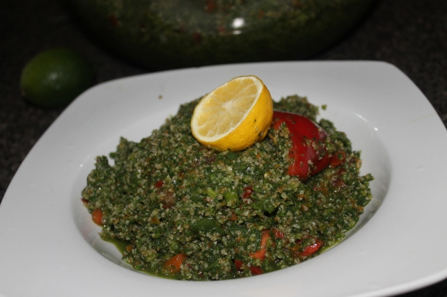:-) Best stuff in the world. NOT tabouli salad.