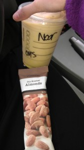 "Starbucks ""protein"" smoothie"